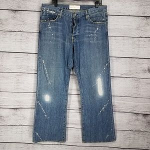 PD&C 36 Button fly Jeans Distressed